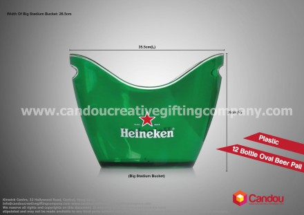 12 Bottle Oval Beer Pail A